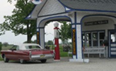 The restoration of Route 66 landmarks like this one in Odell, IL takes the dedication of many individuals, organizations and corporations.